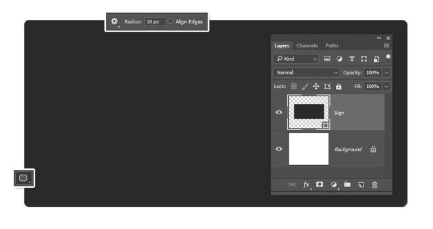 Create a Rounded Rectangle Shape