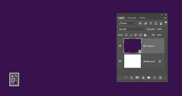 Create the Background Texture Layer