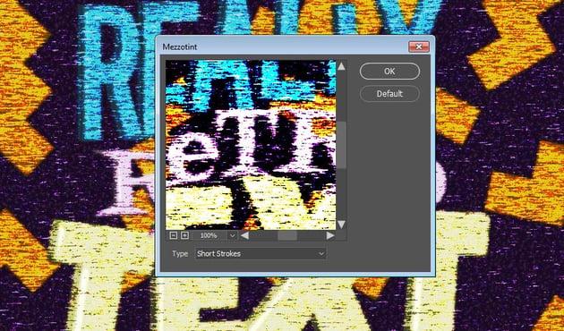 Add a Mizzotint Filter
