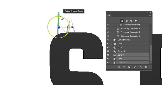 Rotate the Copy Meshes