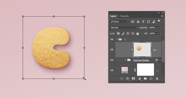 Add the Cookie Texture