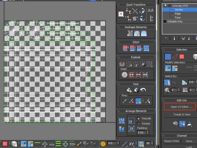 Open UV Editor