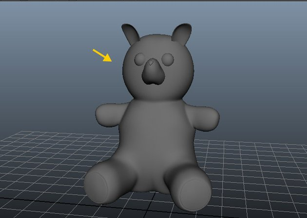 the base body model is completed