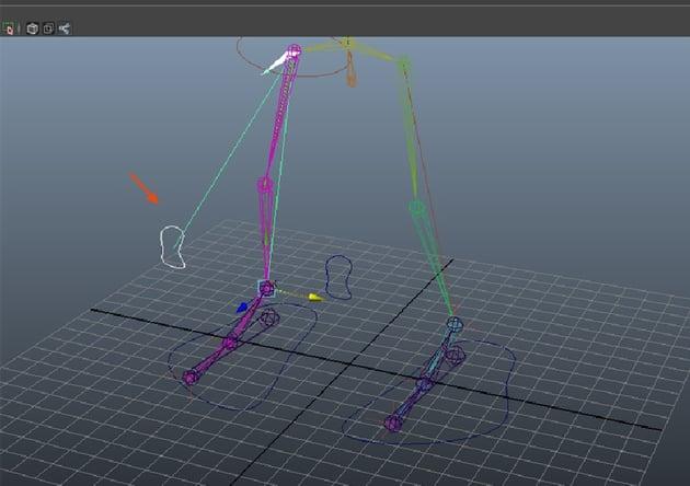 Constrain  Pole Vector