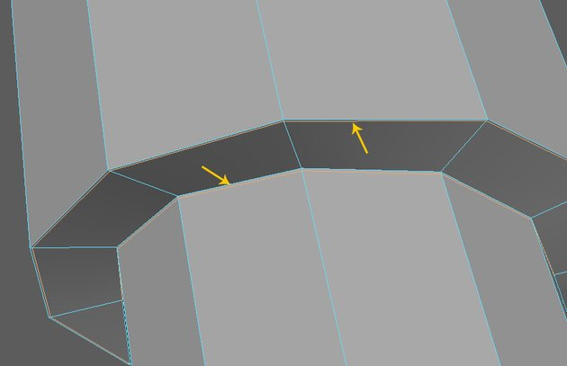 Insert edge loops