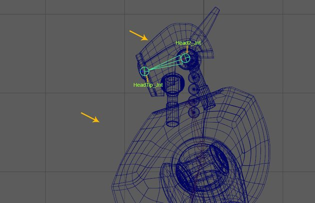 Create head joints