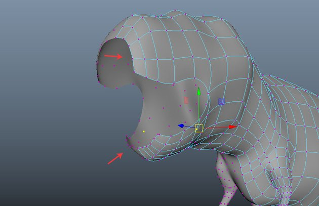 Keep editing the vertices
