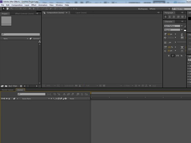 Open After Effects