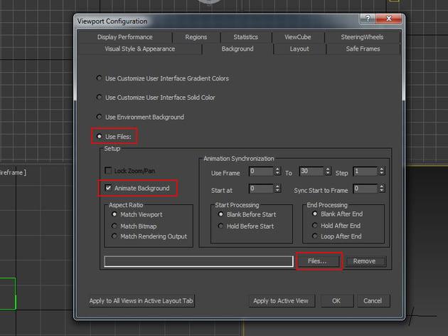Viewport Configuration