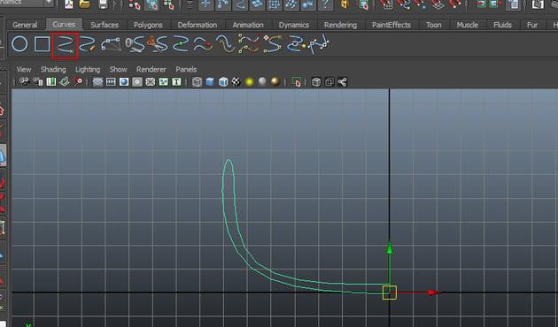 Curves  EP Curve Tool
