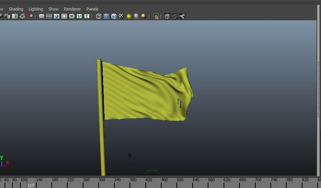 Flag simulation