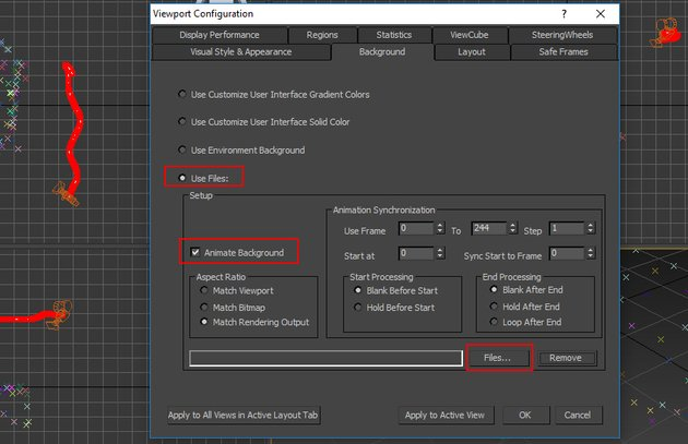 Viewport Configuration window