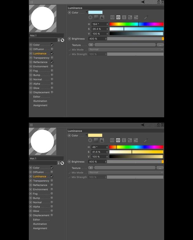Light source materials
