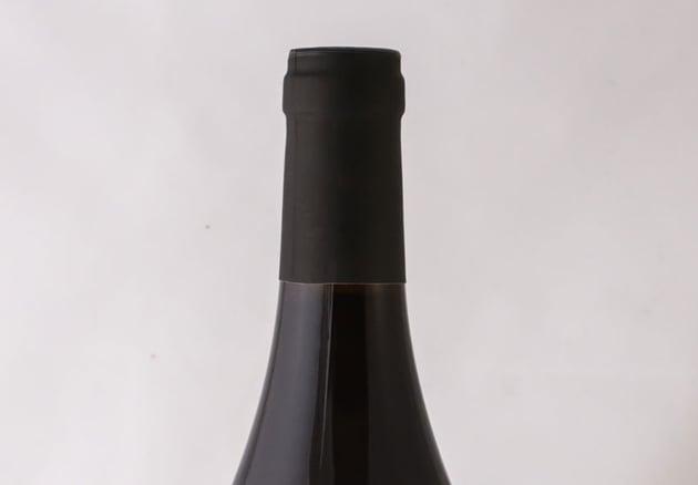 Red wine neck label