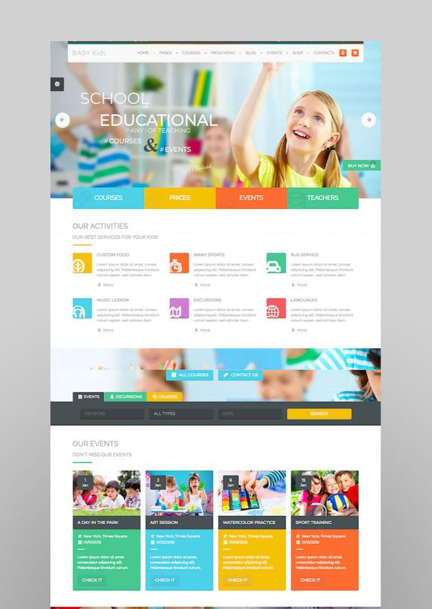 Baby Kids - Education Primary School For Children