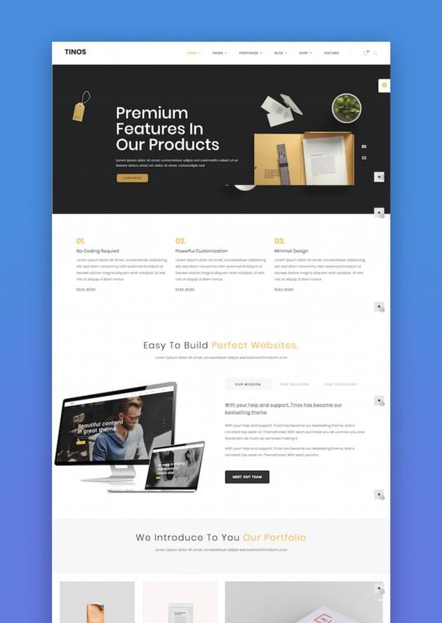 Tinos - Multipurpose WordPress Theme