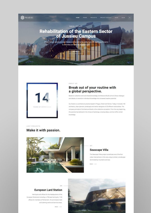 Prague  Architecture WordPressArchitecture