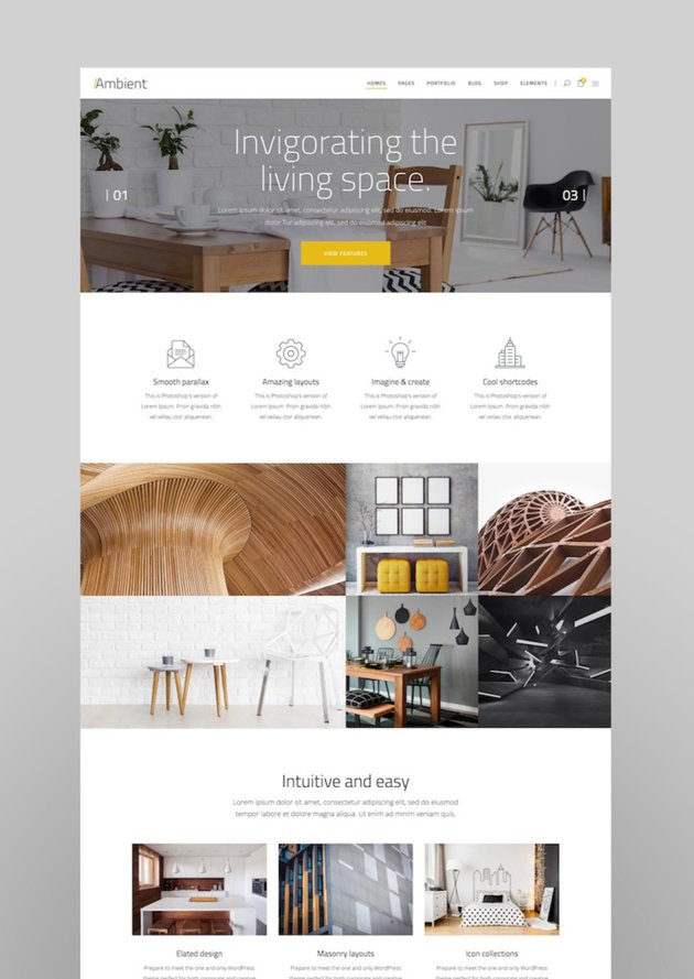 Ambient - A Contemporary Theme for Interior Design Decoration andArchitecture