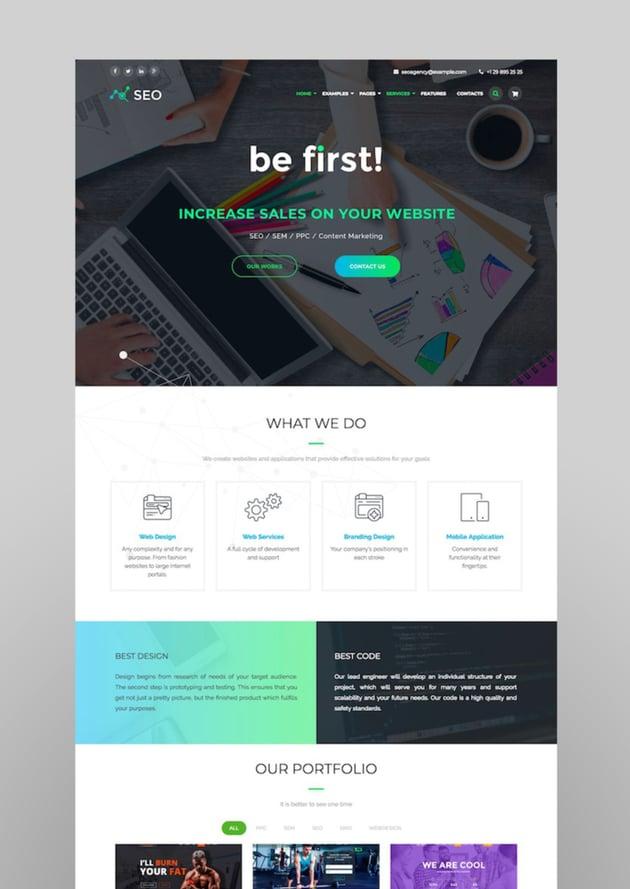 The SEO - Digital Marketing Agency WordPress Theme