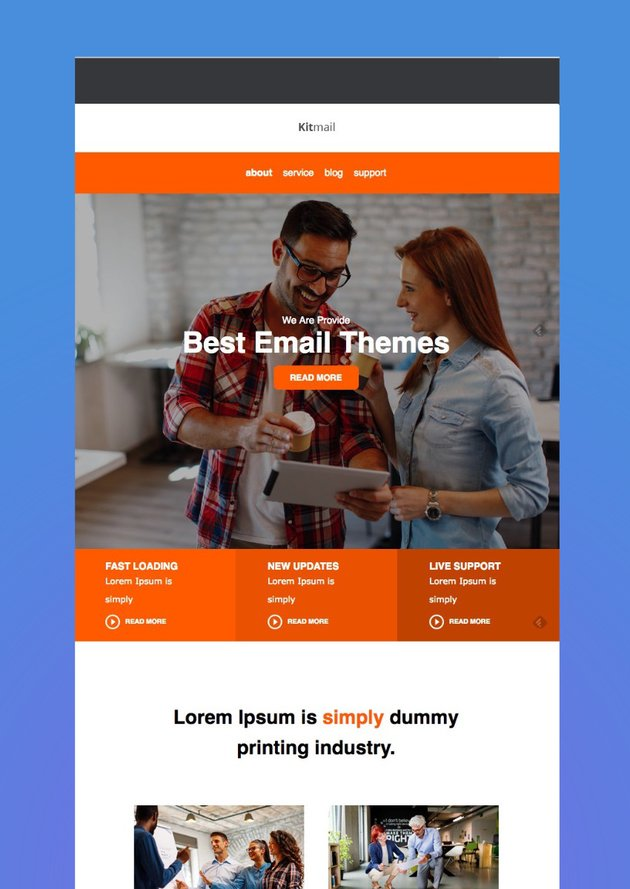 Kit Mail - Responsive E-mail Template