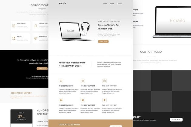 Emailo - Responsive Email and Newsletter Template