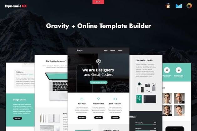 Gravity - Responsive Creative Email Builder