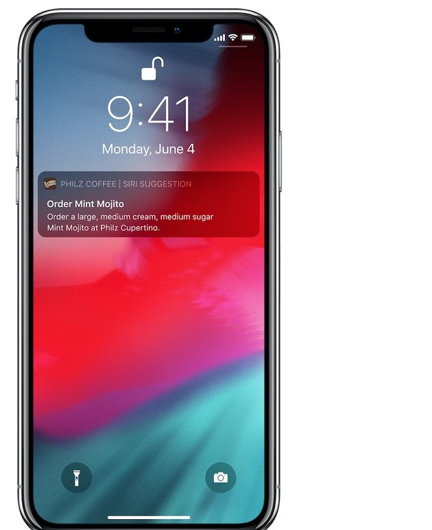Lock Screen Siri Suggestions