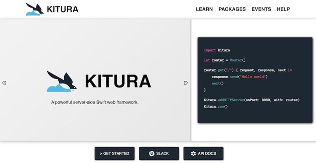 Kitura documentation page