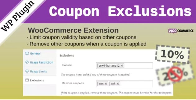 WooCommerce Coupon Exclusions plugin
