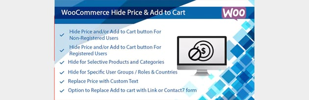 WooCommerce Hide Price  Add to Cart Button Plugin