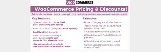WooCommerce Pricing  Discounts