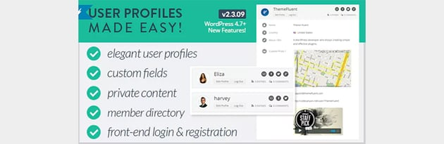 User Profiles Made Easy