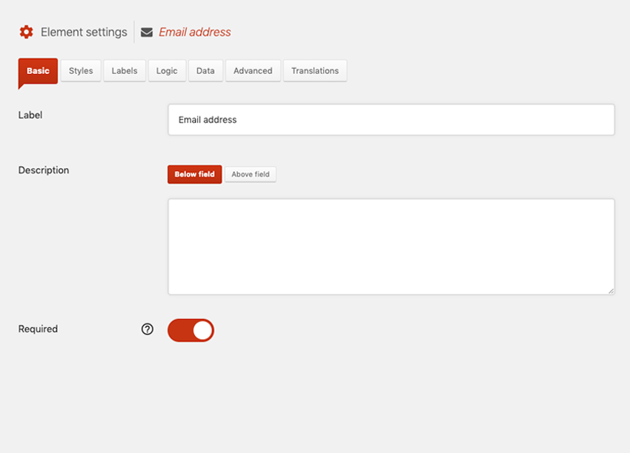 Adding Email Field