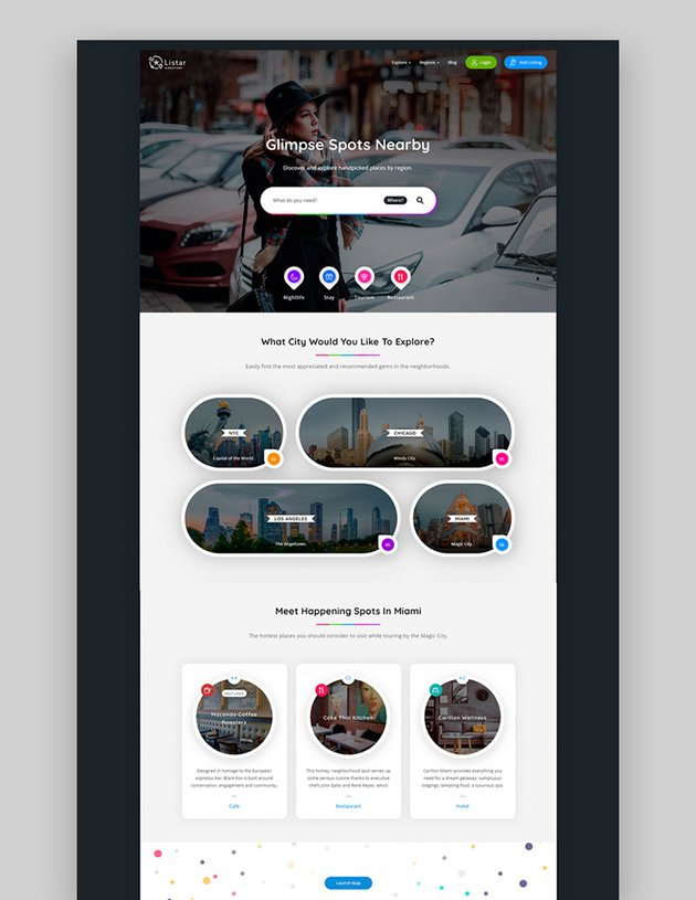Listar - WordPress Directory and Listing Theme
