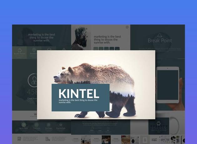 KINTEL Simple Google Slides Templates