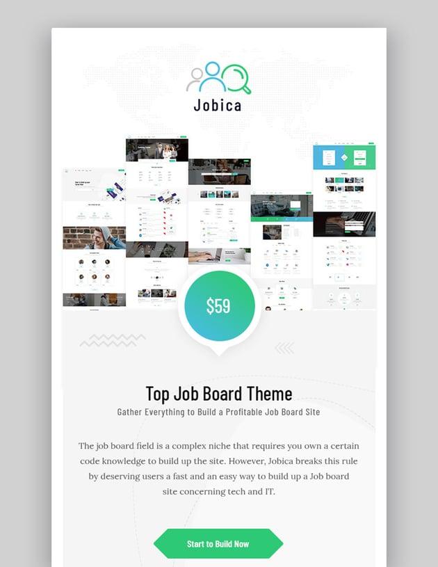 Jobica - Elementor IT Job Board WordPress Theme