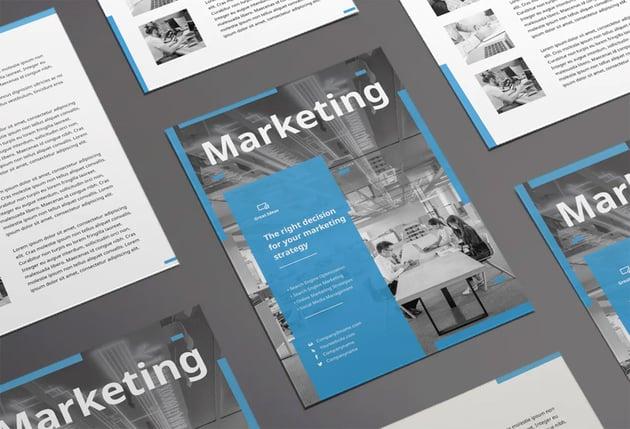 Marketing Firm Flyer Envato Elements