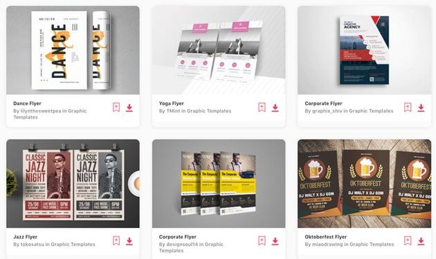 Premium Printable Flyer Design Templates on Envato Elements