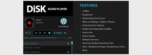 Disk Audio Player