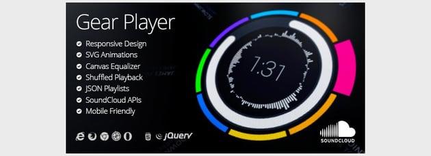 Gear HTML5 Audio Player
