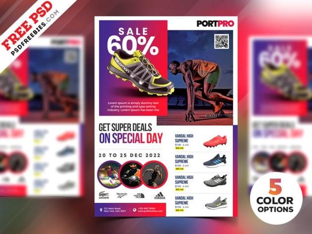 Sportswear Sale Flyer