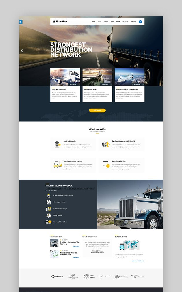 Trucking - Transportation  Logistics