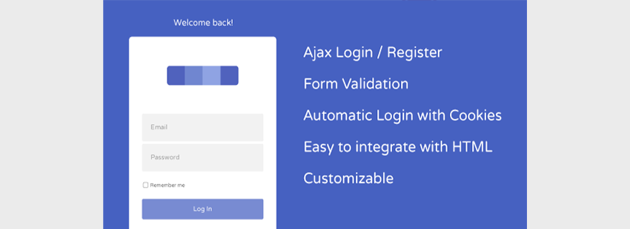 AJAX User Registration and Login