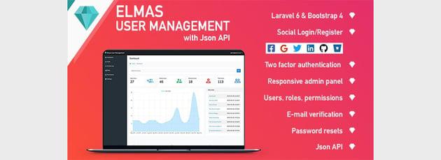 Elmas PHP Login and User Management