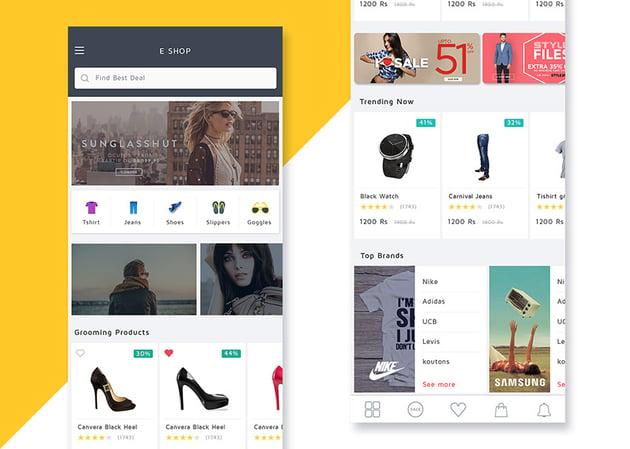 Shoppy Ecommerce UI KIT
