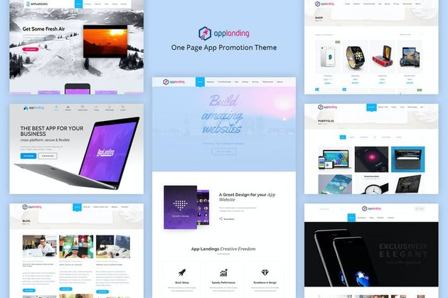 App Promotion One Page App Promotion Theme
