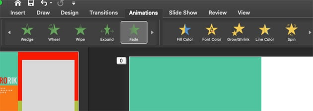 Adding Animations To Specific Elements