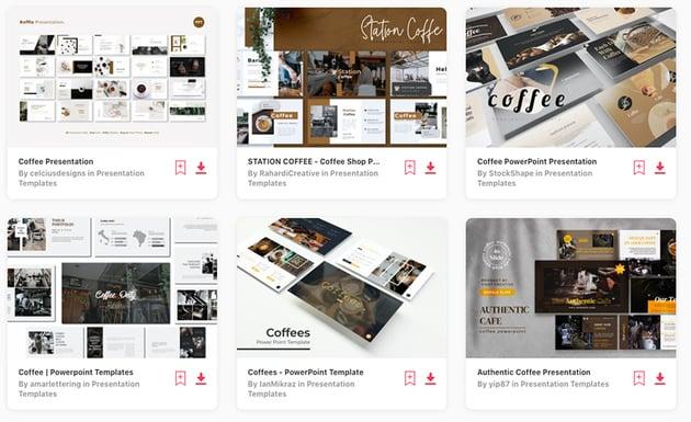 Envato Elements Coffee