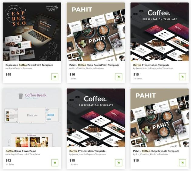 GraphicRiver Coffee Presenations