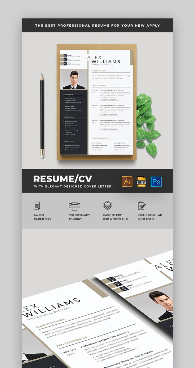 Resume by Creative Rezwan